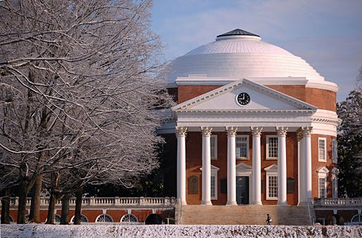Thomas Jefferson's Rotunda at the University of Virginia. Photo by Mark Lagola, licensed under the Creative Commons Attribution-Share Alike 2.0 Generic license