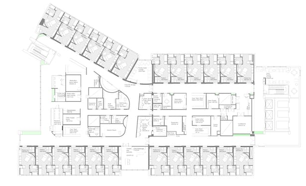 Patient Floor Plan