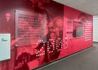 VirginAmerica History wall