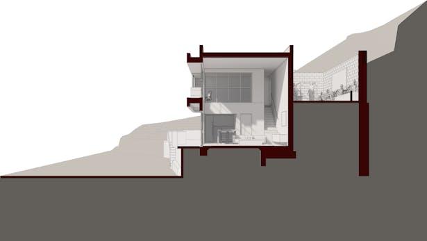 Sierra Alta Residence, Los Angeles Under Construction