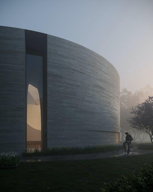 Image: Eleven Visualisation/Trahan Architects.