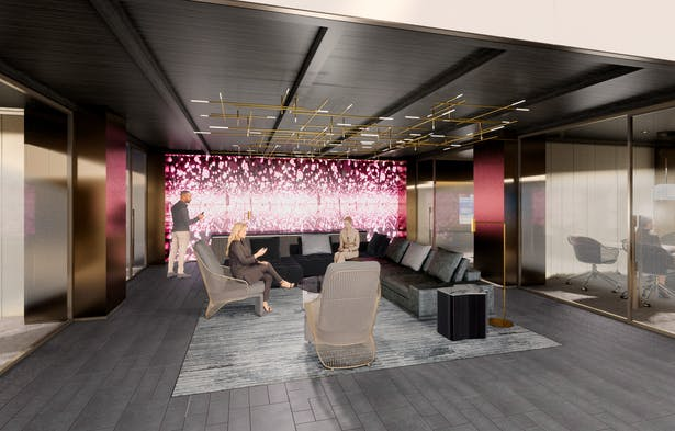 CONFIDENTIAL GLOBAL BANKING, FLAGSHIP NYC (MAIN BRANCH) PRIVATE LOUNGE