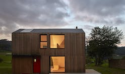 This modern prefab house in Spain boasts only a five hour assembly time