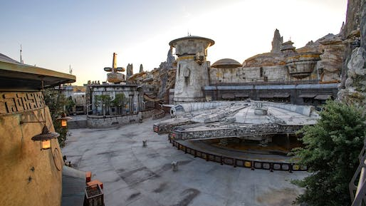 A partial overview of Star Wars: Galaxy's Edge. Photo by Richard Harbaugh