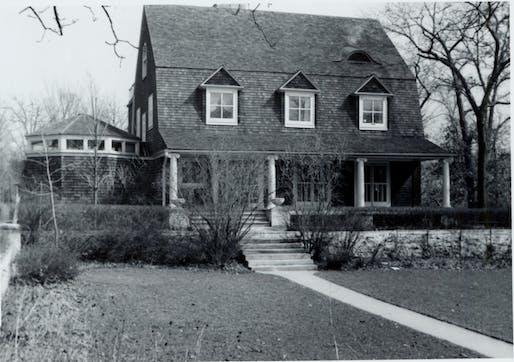 Photo: Gilman Lane courtesy Oak Park Public Library – Special Collections