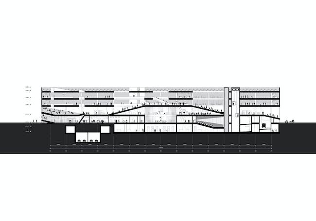 Section BB (Image: OYO + office9 + Ingenium)