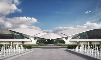 TWA Hotel at Saarinen's iconic Flight Center to open in May