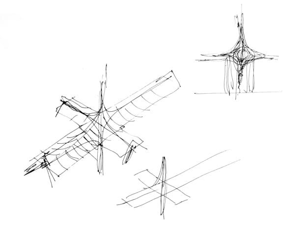 Notre Dame's Spine_OF STUDIO_Sketch