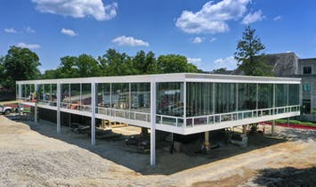 Mies van der Rohe design for Indiana University is being built, 70 years later