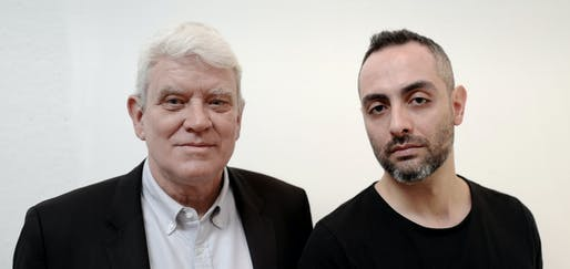 ​Bernhard Karpf​ (left) and Parsa Khalili (right) have left Richard Meier & Partners to start their own firm. Image courtesy of Karpf Khalili Architects.