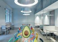 Restaurant Avocado Gang by Mimosa architekti