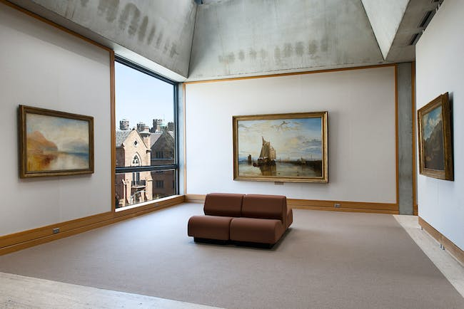 Yale Center for British Art, fourth floor, Turner Bay following reinstallation, photograph by Richard Caspole.