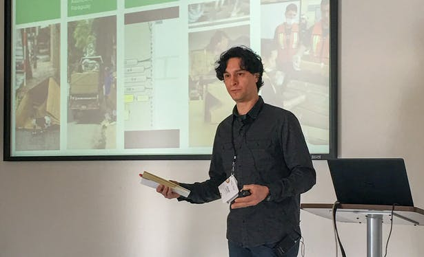 Julio Diarte, an architecture doctoral student in the Stuckeman School, is one of just 25 researchers worldwide who was selected for the 2020 Engineering for Change Fellowship Program.