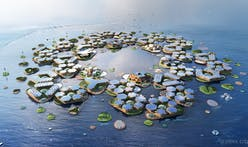 Bjarke Ingels presents utopian plan for sustainable floating cities to UN
