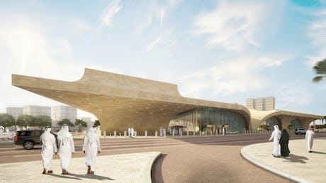Qatar Doha Metro UNSTUDIO
