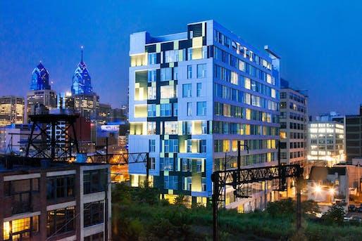 Goldtex Apartments Image © Coscia Moos Architecture