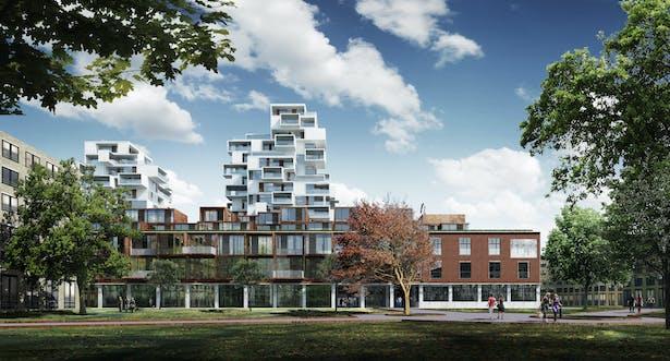 Hasle Linje Housing Complex in Oslo, Norway