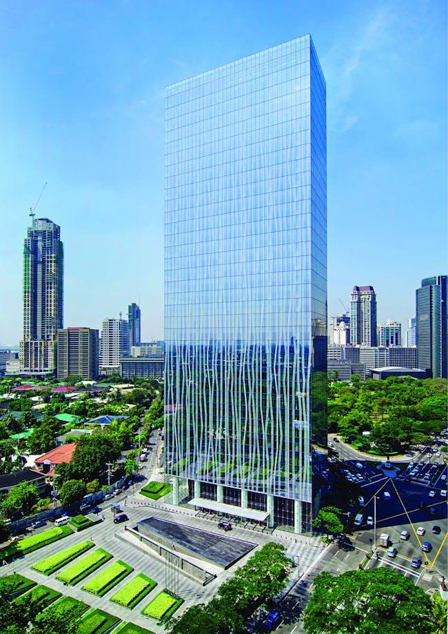 Zuellig Building, Makati City, Philippines. Credit: Bridgebury Realty Corporation