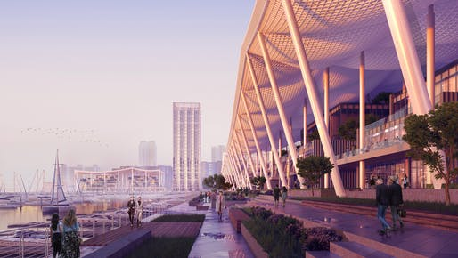 All renderings courtesy of SOM. © ATCHAIN