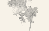 This tool instantly draws all of the streets in any city