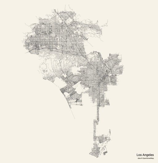 "Los Angeles. via <a href=""https://anvaka.github.io/city-roads/?"">City Roads</a>."