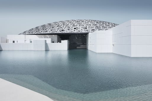 The Louvre Abu Dhabi, designed by Jean Nouvel. Photo by Mohamed Somji.