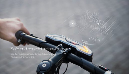 Concept image of Baidu's most recent take on a smart bike, the DuBike. The next generation will, reportedly, be self-driving. (Image via dubike.baidu.com)