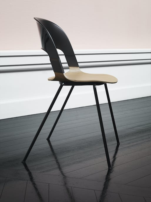 Best Furniture Design - Republic of Fritz Hansen: Pair Chair, by Benjamin Hubert. Photo credit: Azure