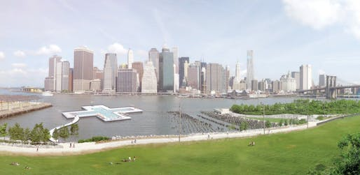 Rendering by Family New York, Courtesy of Friends of +POOL