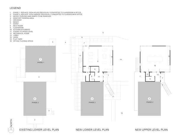 Whole Earth Montessori School: Plans (Paul Michael Davis Architects)
