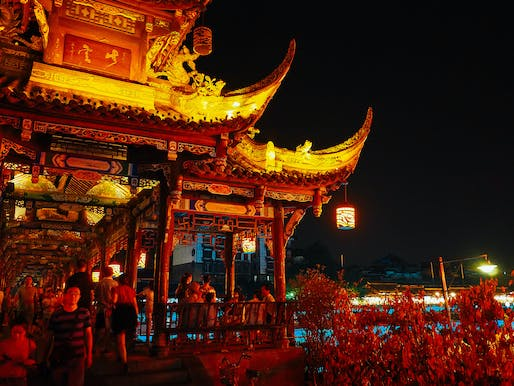 If things go according to Chengdu officials' claims, over 14 million city residents will soon have to say good-bye to dark night skies. Photo: Nick Turner/Flickr.