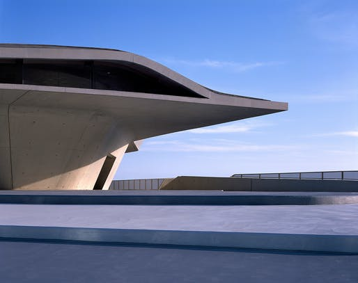 Salerno Maritime Terminal by Zaha Hadid Architects. Category: Transport