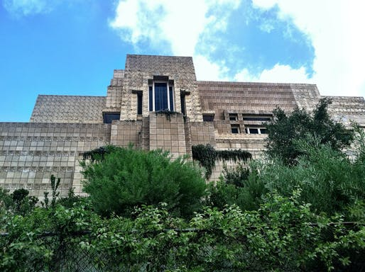 The Ennis House designed by Frank Lloyd Wright. Photo: evdropkick/Flickr.