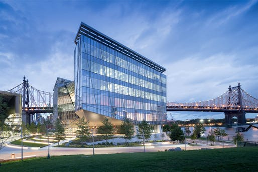 Tata Innovation Center at Cornell Tech by Weiss/Manfredi.