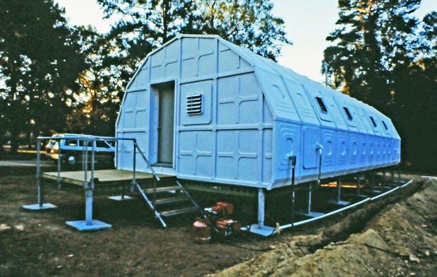 Experimental habitation lab sold to NASA.