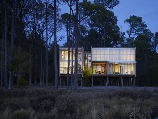 Loblolly House, by KieranTimberlake, is an off-site fabricated home in the Chesapeake Bay that took just six weeks to construct. Photo © Halkin Photography LLC/Barry Halkin.