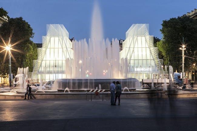 Expo Gate in Milan, Italy by Scandurra Studio Architettura. Photo: Filippo Romano.