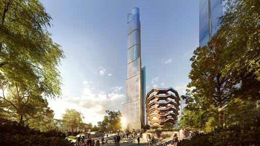 Apartment sales at 35 Hudson Yards begin on Friday, March 15th. Image: Related-Oxford