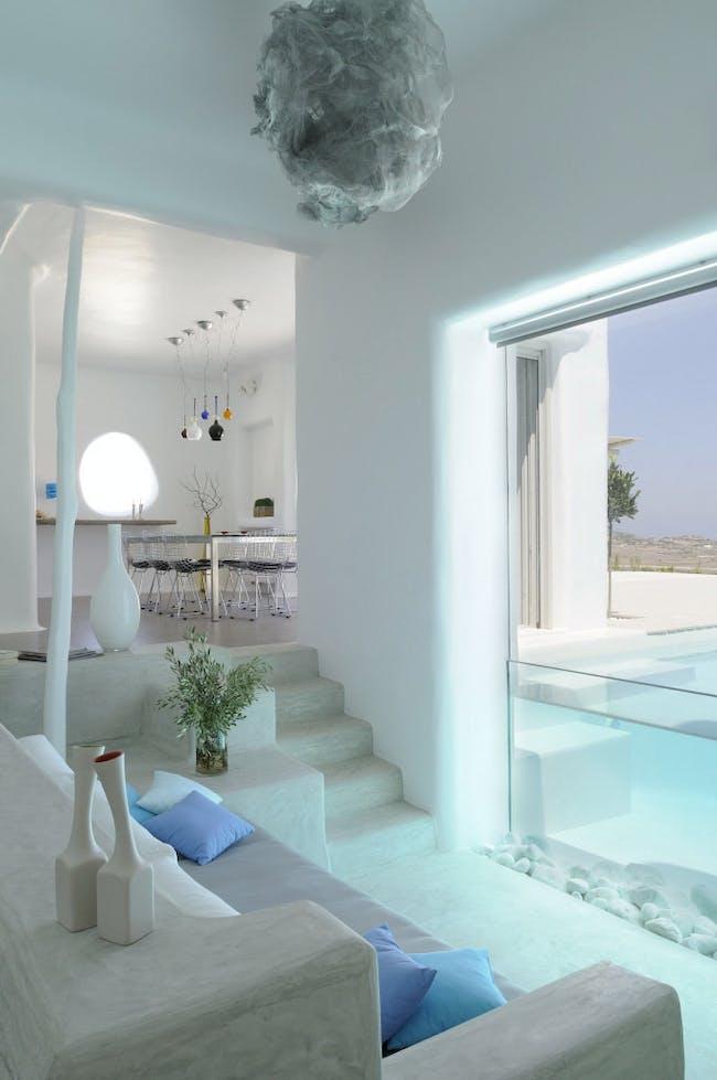 Summer House in Páros, Greece by Alexandros Logodotis / Logodotis – Art to fit (Photo: Nikolareizi Ioanna)