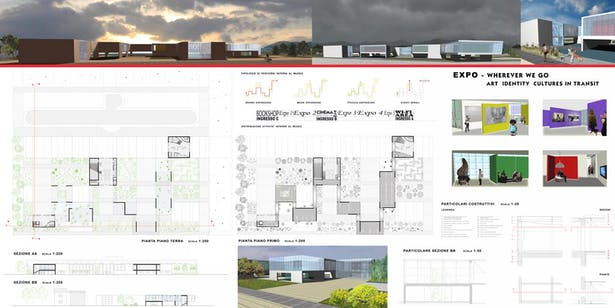 Plot 2 - Plans, Sections, Details and 3d views