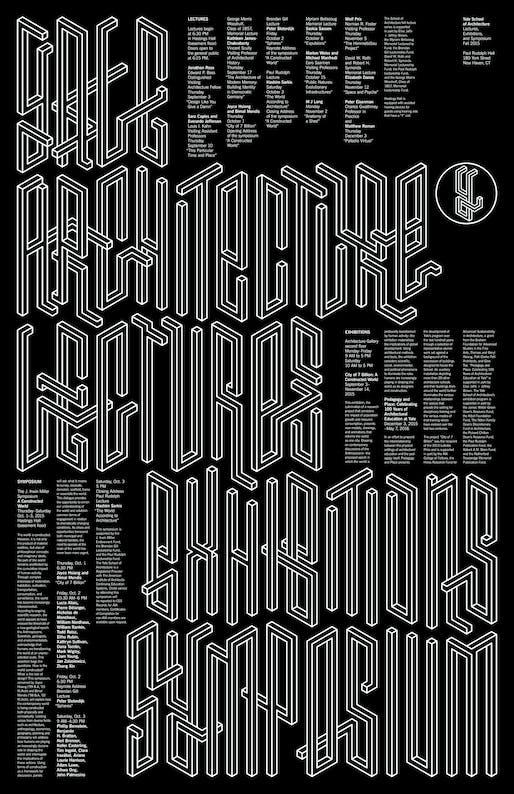 Poster design by Pentagram, Michael Bierut, and Jessica Svendsen. Image courtesy of Jessica Svendsen.
