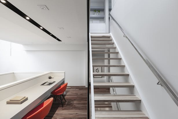 study area / staircase