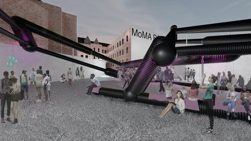 2018 MoMA PS1 YAP finalist: Loudlines by BairBalliet. Image: BairBalliet.