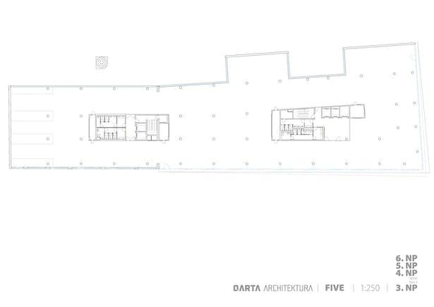 Lower Basement Floor Plan QARTA ARCHITEKTURA
