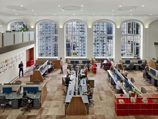 Hill Office in New York, NY by Andrew Franz Architect, PLLC; Photo: Eric Laignel