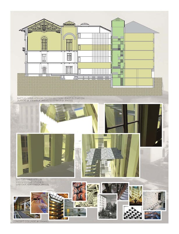 Project 3 - Sections, Perspective Study
