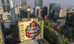Mexico City deploys giant murals to clean its polluted air