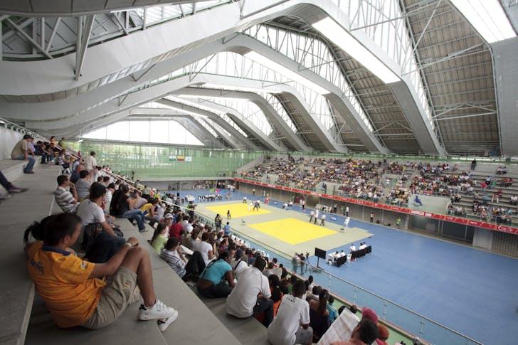 Sports Arenas Medellín, photo credit Rudolf, courtesy of El Equipo de Mazzanti.