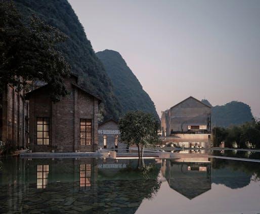 Alila Yangshuo in Guangxi, China by Vector Architects. Photo: Shengliang Su.