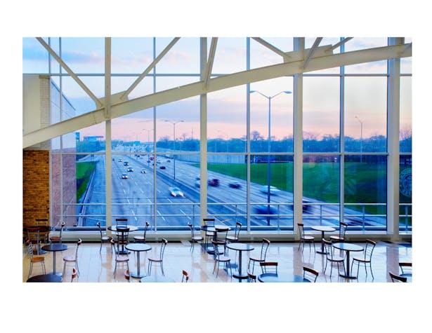 I-294 Tollway Oasis Travel Pavilions / Cordogan Clark & Associates Architects